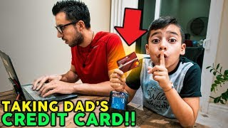 8 YEAR OLD SON TAKES HIS DAD
