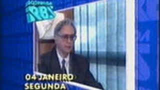 Jornal da RBS - RBS TV (04/01/1993) RS