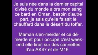 Diam's - Sur La Tête De Ma Mère (Clip Parole) - LYRICS {HD}