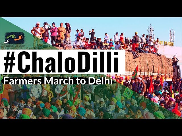 #ChaloDilli | Farmers March To Delhi | #WeThePeople | Karwan e Mohabbat