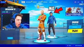I joined Youtubers Lobbies with their OWN Skins... again