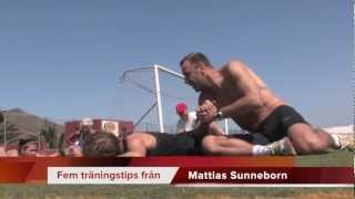 Fem tränings-tips med Mattias Sunneborn på kronBee TrainingCamp