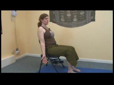 Chair Yoga : Chair Yoga: Corpse Pose