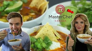 Chicken Tortilla Soup Recipe with Thea from MasterChef!