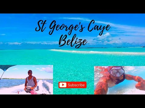 An Awesome Caribbean Paradise - St George's Caye, Belize (Central America)