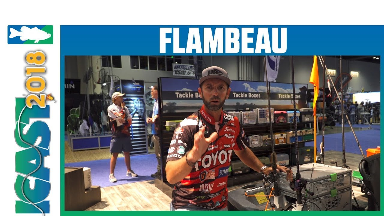 Icast 2018 Videos Flambeau Kayak Tuff Krate With Mike