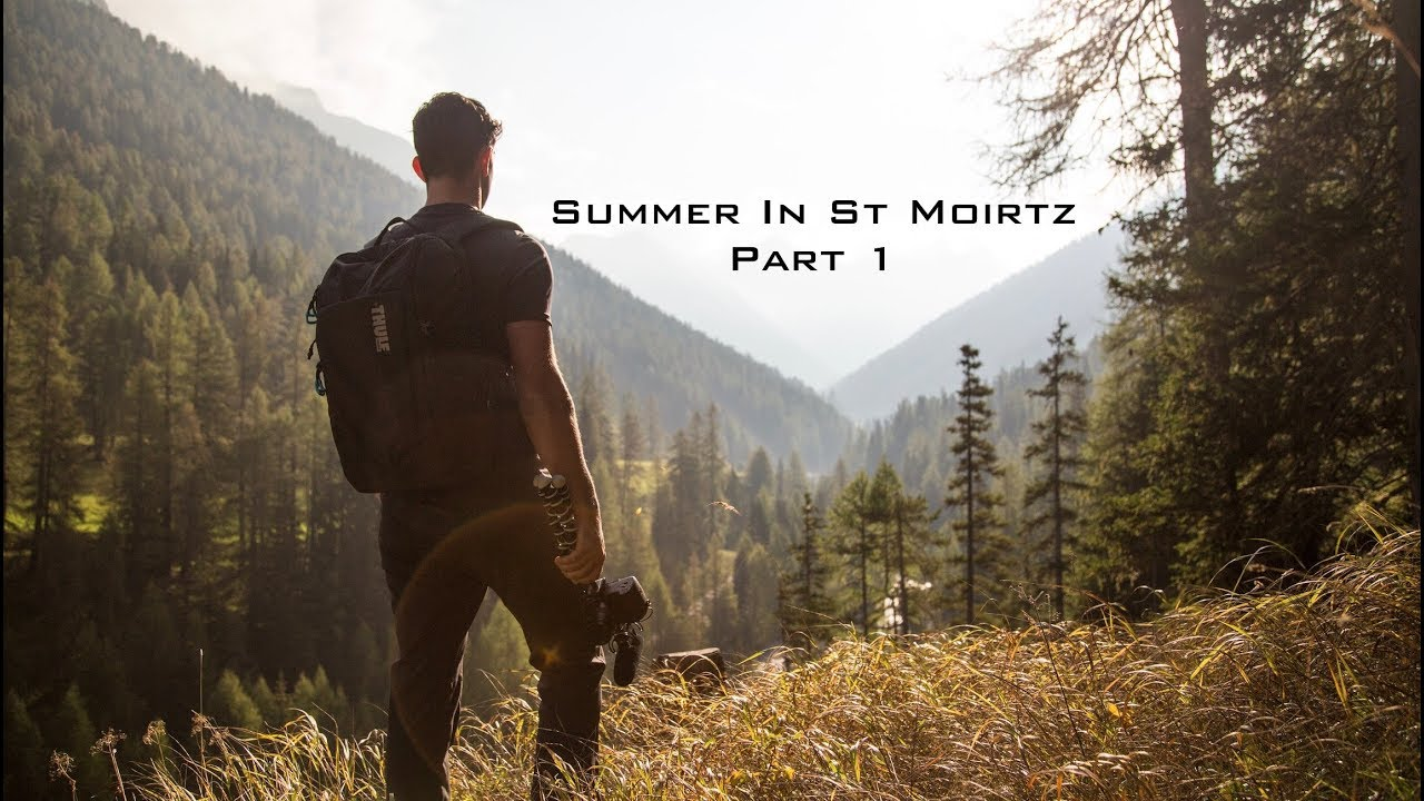 Summer in St Moritz - Part 1 | Vlog 6