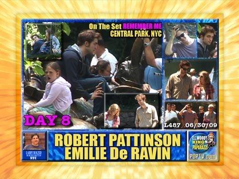 DAY 8 ROBERT PATTINSON & EMILIE De RAVIN OTS REMEMBER ME