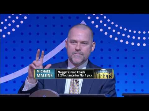 NBA Draft Lottery 2016 HD news!