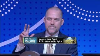 NBA Draft Lottery 2016 HD news!