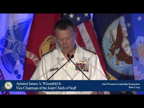 Admiral James A. Winnefeld Jr. - Vice Chairman of the Joint Chiefs of Staff