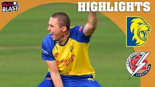 Bedingham Stars With the Bat! | Durham v Lancashire Lightning - Highlights | Vitality Blast 2021