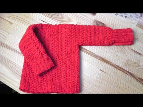 Adventskalender Türchen 24: Pullover häkeln lernen - YouTube