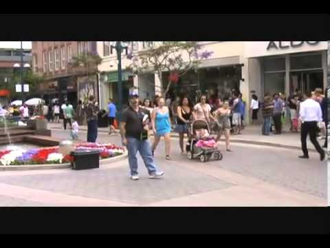 Open Air on Third Street Promenade   YouTube