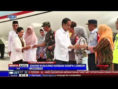 Jokowi Kunjungan Kerja Ke Lombok NTB