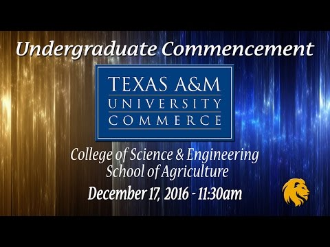 Undergraduate Ceremony - College of Science & Engineering, School of Agriculture