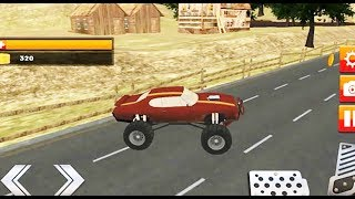 Traffic Racer Monster Truck|Monster Truck for Kids| Games New Fun For children (jungle road) #2