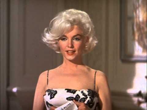 Мэрилин Монро на съемках фильма Something's Got To Give (1962)