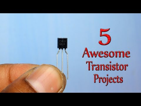 5 Awesome Projects Using Transistor