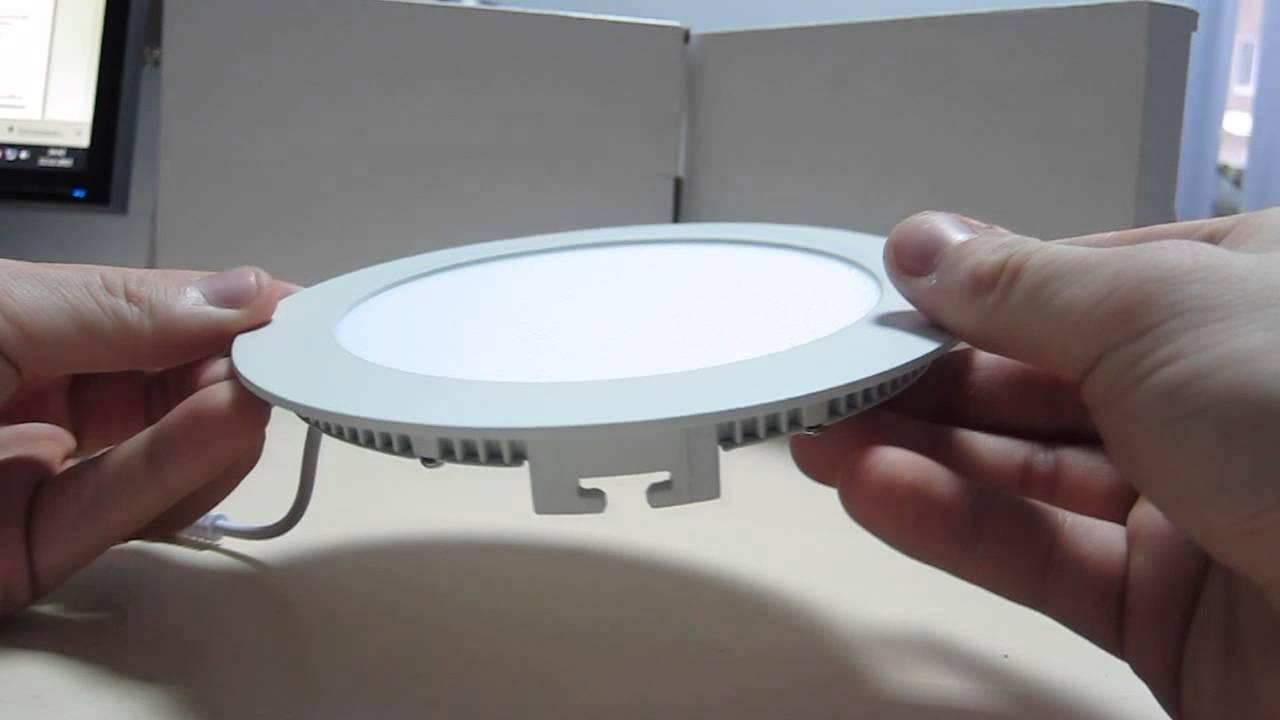 как разобрать светодиодный светильник