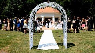Making A Wedding Arch / Výroba Svatebního Oblouku