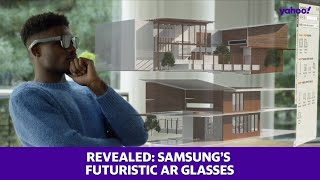 Samsung's video revealing augmented reality glasses has been leaked on Twitter