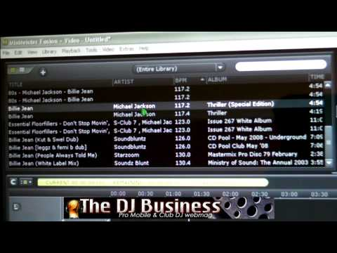 The DJ Business: Introduction To MixMeister DJ Software