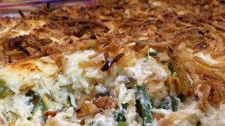 The Best Green Bean Casserole