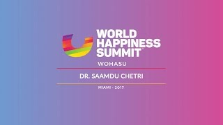 Dr. Saamdu Chetri – Happiness in Bhutan