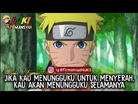 ●QUOTES CAPTION || Mutiara Bijak Naruto Keren_Cocok Buat ~Story WA