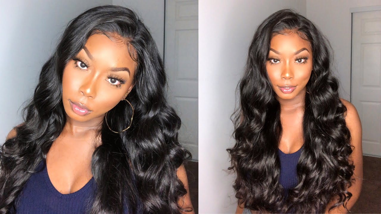 Perfect Body Wave Wig + Wand Curls Styling ft. WestKiss Hair - YouTube