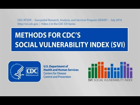 Methods for CDC's Social Vulnerability Index (SVI)