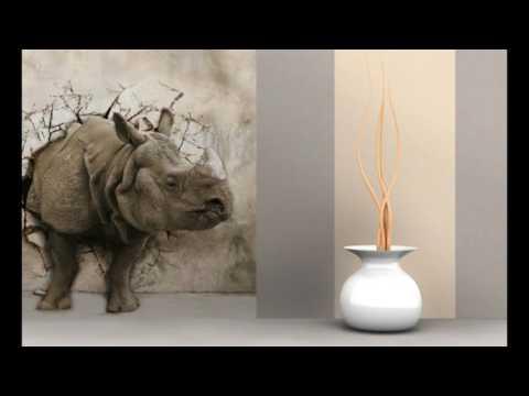 Фотообои с 3D эффектом. 3Д обои для стен, Идеи дизайна интерьера.