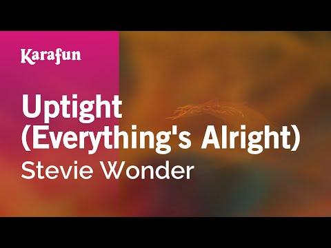 Karaoke Uptight (Everything's Alright) - Stevie Wonder *