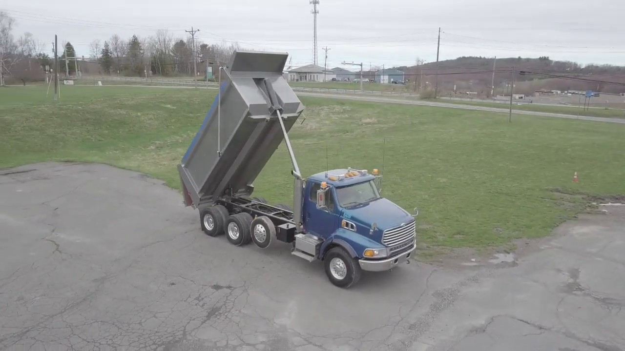 2007 Sterling Tri-Axle Dump For Sale at Dominic's Equipment Rental