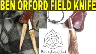 The Ben Orford Field Neck Knife