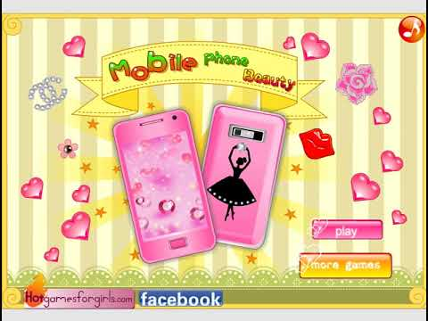 Creative games for kids: Mobile Phone Beauty - Games for kids to play, kids games online