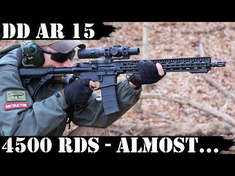 Daniel Defense AR15, 4500rds Later: Almost there...