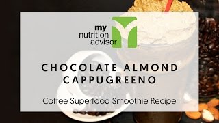 Chocolate Almond Cappugreeno - Recipe For A Healthy Frappuccino Or Frappe