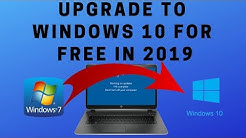 Upgrade to Windows 10 for FREE in 2019