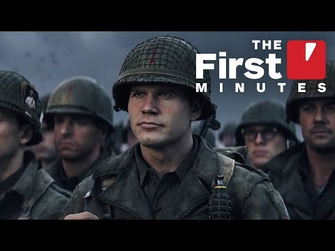 Thumbnail: The First 15 Minutes of Call of Duty: WW2 Single-Player Campaign (Captured in 4K)