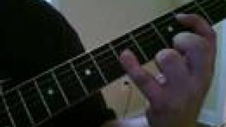 How to play One of These Things First by Nick Drake