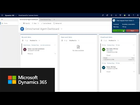 Proactive Chat In Dynamics 365 Omnichannel For Customer Service