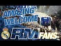 Real Madrid fans' AMAZING welcome for team before Clásico!