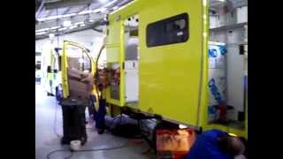 Welsh Ambulance Service Vehicle at UVM Jan 2007
