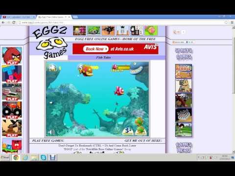 Flash Games  Fish Tales