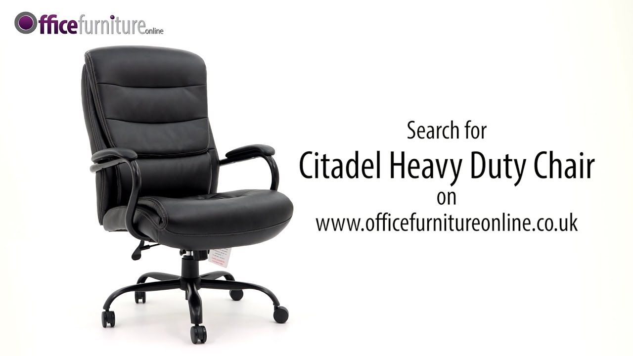 Citadel Heavy Duty Office Chair Features And User Guide