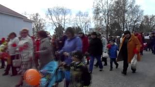 """Парад победы!-Глубинка Сибири""""Уват""""!"""