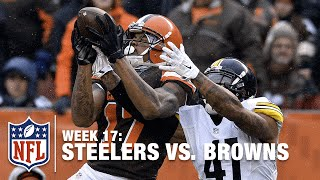 Terrelle Pryor's Leaping 42-Yard Catch | Steelers vs. Browns | NFL