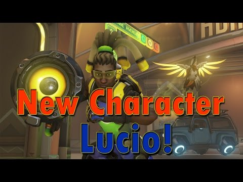 Overwatch News - New Character Lucio and New Maps!